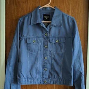 size medium Jean Jacket, periwinkle